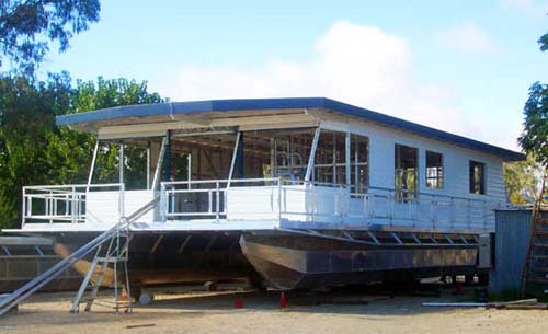 Foto - houseboat