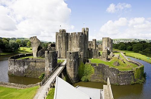 Galles-Castello di Caerphilly